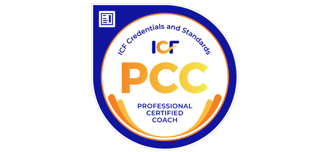 ICF PCC professional certified coach logo