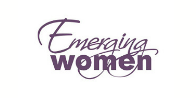emerging women logo
